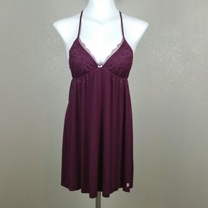 Victoria's Secret Nightgown Lace T-Back